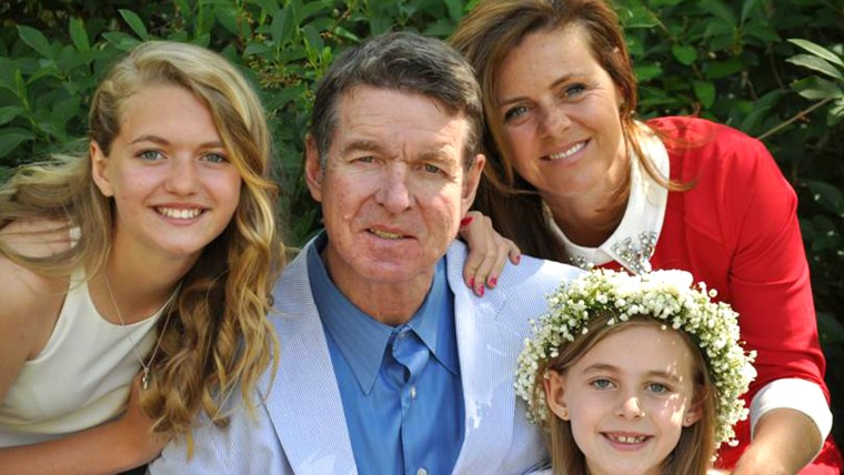 Don Horton and his family