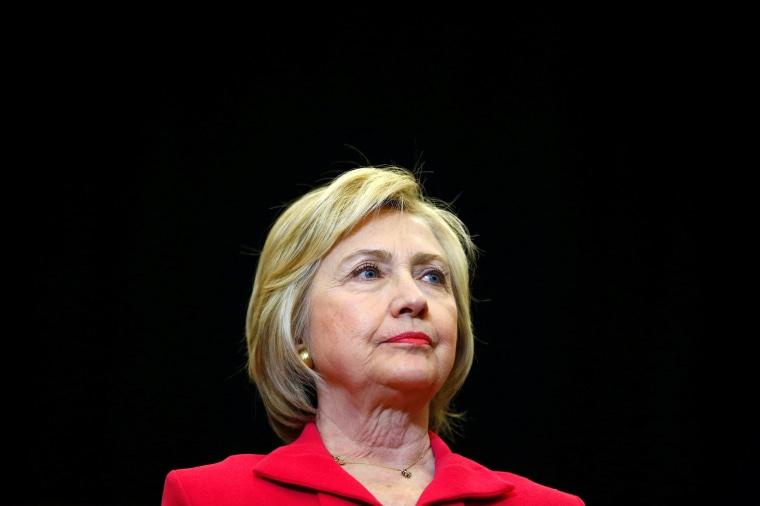 Image: U.S. Democratic presidential candidate Hillary Clinton speaks at Transylvania University in Lexington, Kentucky