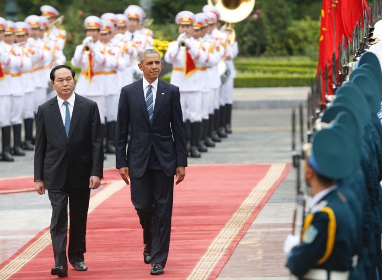 Image: VIETNAM-US-DIPLOMACY