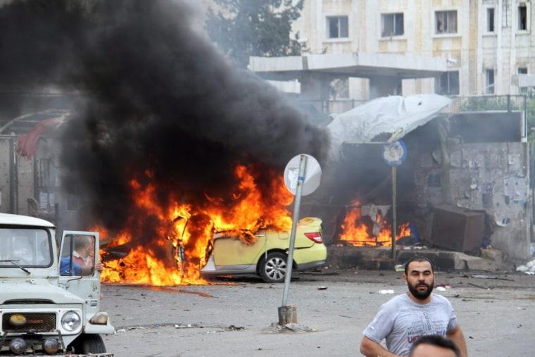 Image: Bombings in Tartus