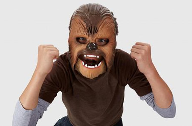 Image: Chewbacca Mask from Wal-Mart