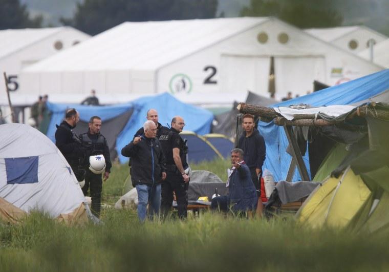 IMAGE: Idomeni refugee camp
