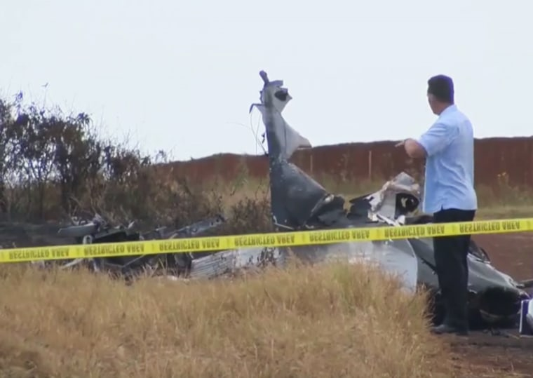 Image: Scene of the plane crash