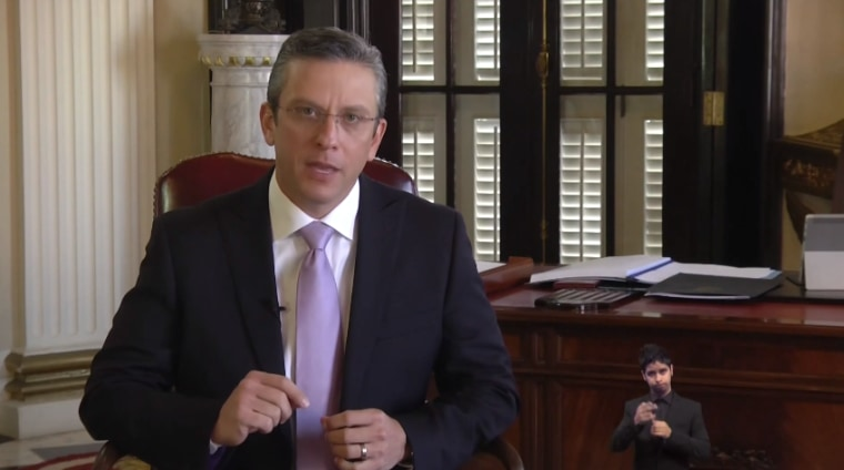 Puerto Rico Gov. Alejandro Garc?a Padilla announces budget for 2017 fiscal year.