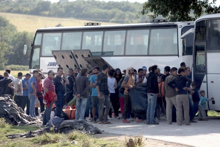 Image: TOPSHOT-GREECE-EUROPE-MIGRANTS