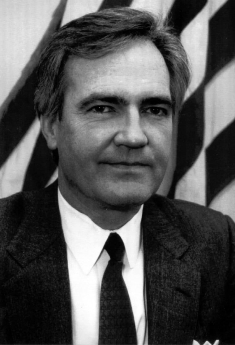 Feb. 19, 1993 photo released by the White House shows Vince Foster who died of an apparent suicide. Foster, the number two lawyer at the White House, was found dead at a Virginia park from an apparently self-inflicted gunshot wound.