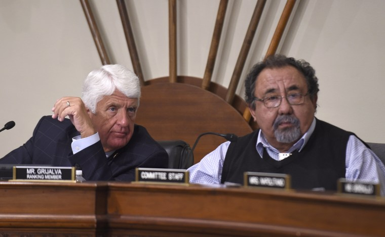 Image: Raul Grijalva, Rob Bishop