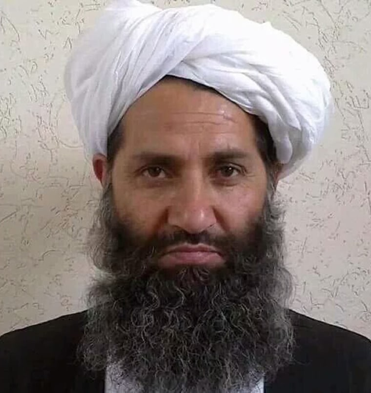 Image: Photo purportedly of Mullah Haibatullah Akhundzada