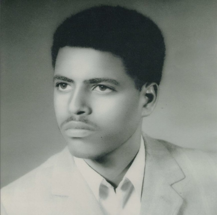 A young Andy Tsege