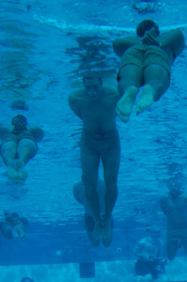 Image: SEALs conduct rigorous pool training