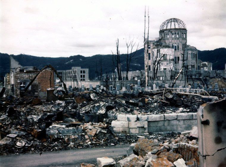 Image: The Wider Image: Hiroshima after the atomic bomb