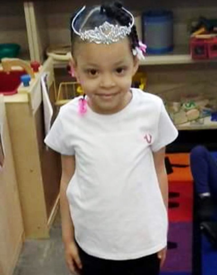 Mariah Davis, a 5-year-old girl who died after finding a handgun under a pillow in her grandparent's Detroit home on May 11, 2016.