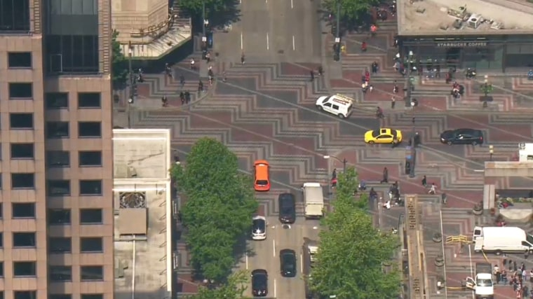 Outages were reported in downtown Seattle.