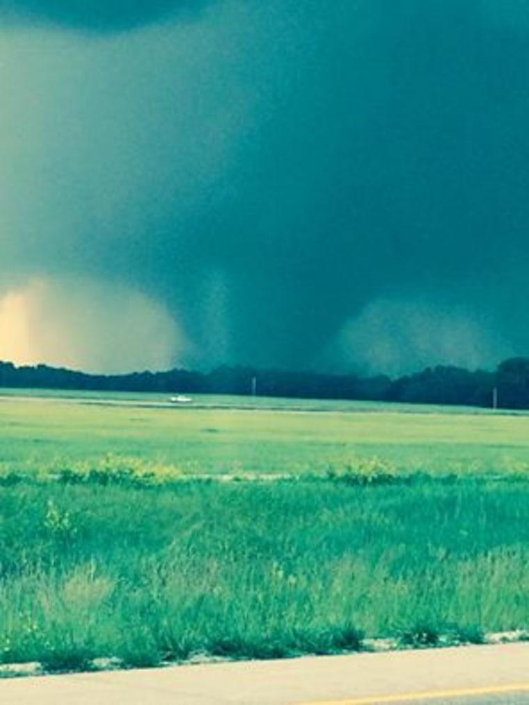 IMAGE: Dickinson County, Kansas, tornado