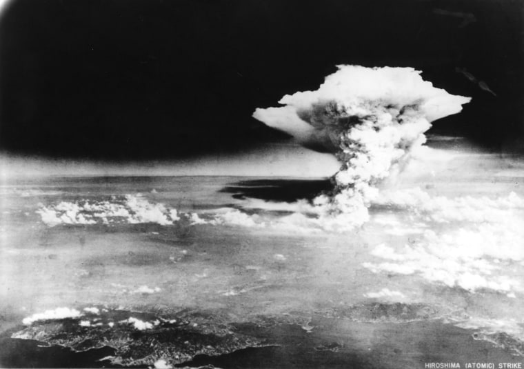 Image: Atomic cloud over Hiroshima, Japan, on August 6, 1945