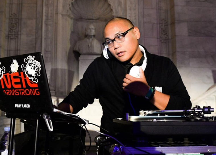 DJ Neil Armstrong was the first DJ to scratched at a presidential inauguration when he performed with Jay Z at President Barack Obama's 2008 inauguration party.