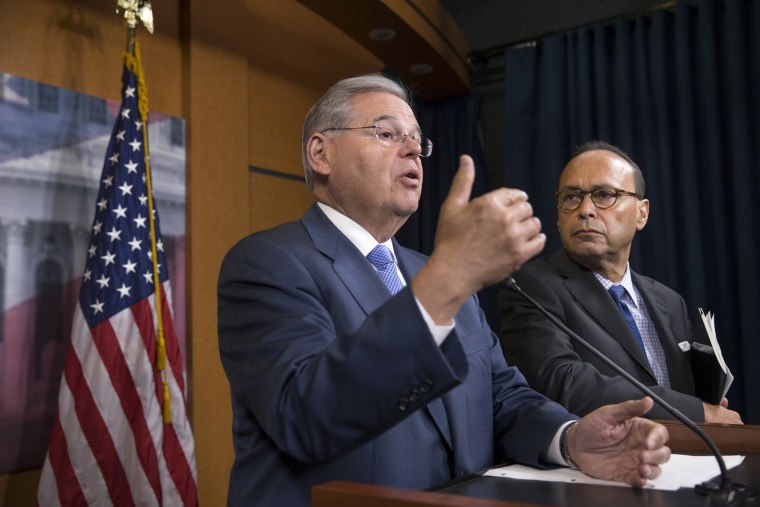 Image: Bob Menendez, Luis Gutierrez