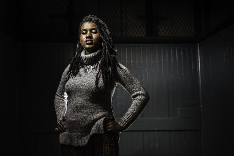 Makayla Gilliam-Price is a student activist who has participated in several actions in the last year including the student led shutdown of City Hall.