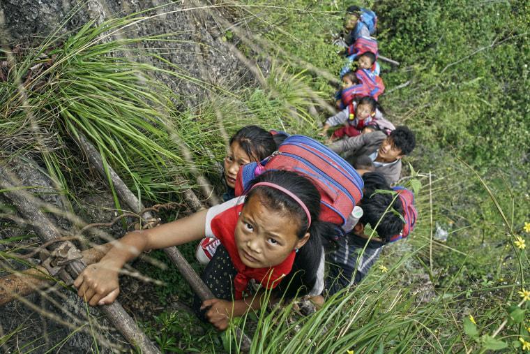 Image: China Village Ladder