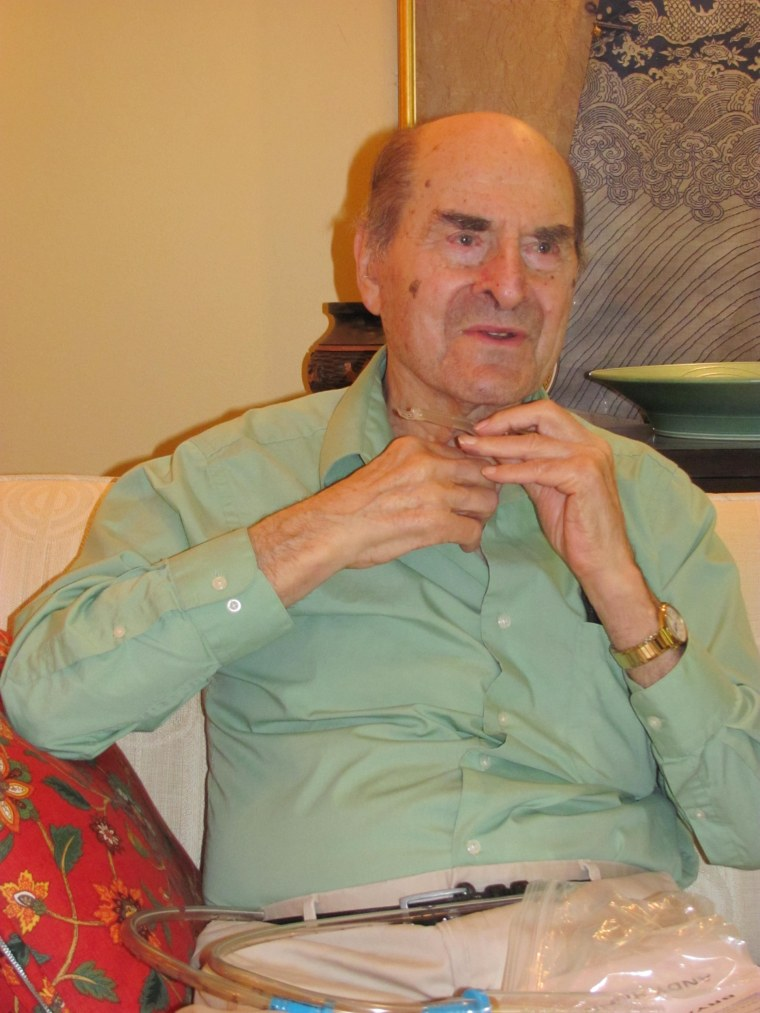 Image: Dr. Henry Heimlich saves woman with maneuver he invented