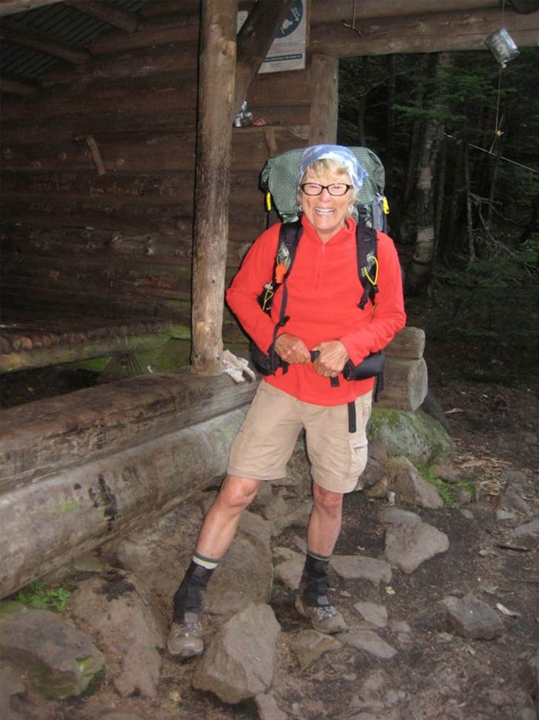 Image: Geraldine Largay got lost and died while hiking the Appalachian Trail