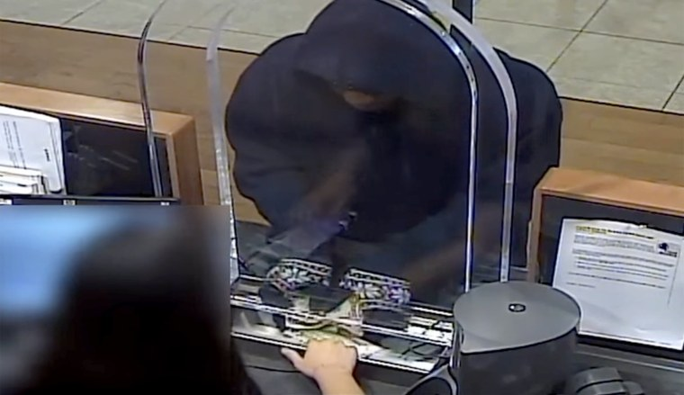 LAPD's robbery homicide division seeks the public's help in identifying bank robbery suspect.