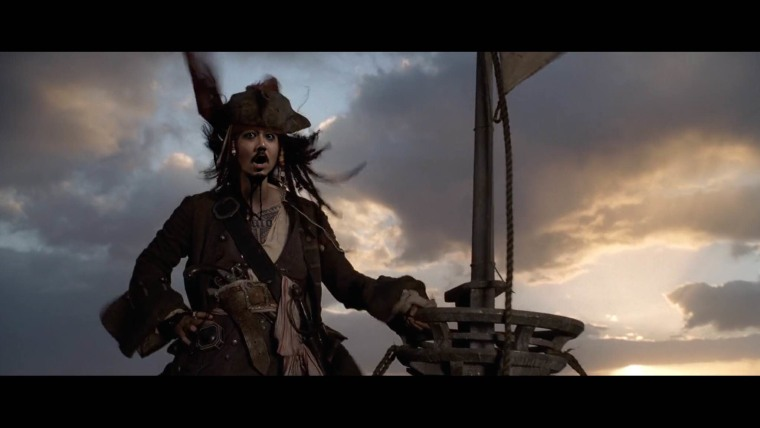 "Rapper Dumbfoundead ""plays"" Captain Jack Sparrow in his latest music video, ""Safe."""