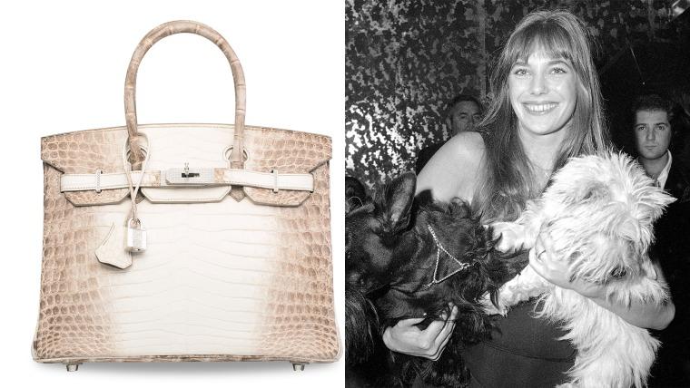 Jane Birkin and the Birkin bag