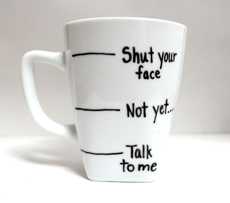 Shut Your Face mug