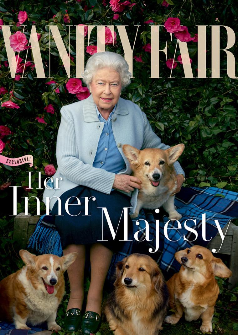 Queen Elizabeth on the latest cover of Vanity Fair magazine.