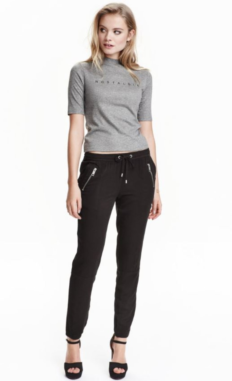 Moto pants from H&M