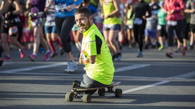 Motivational Speaker Chris Koch Completes His First Marathon