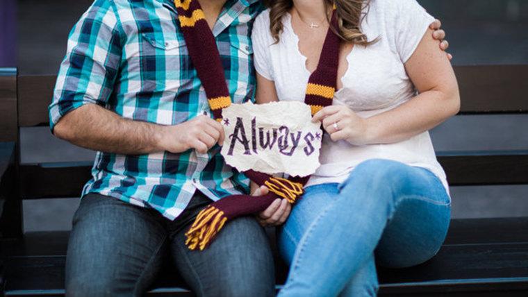 Harry Potter engagement