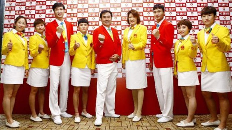 China's Olympic uniforms