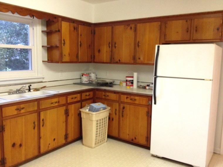 Kitchen makeover- before