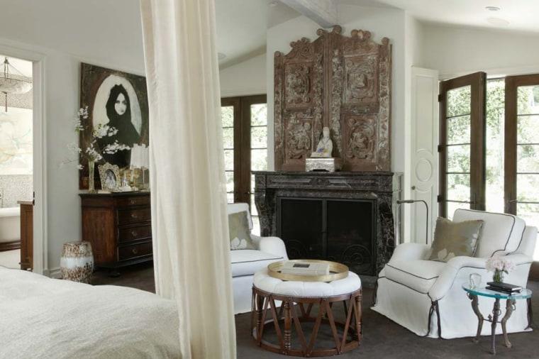 Jennifer Lopez's Master bedroom
