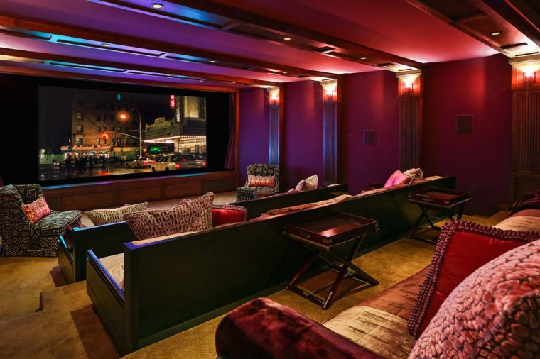 Jennifer Lopez's home theater