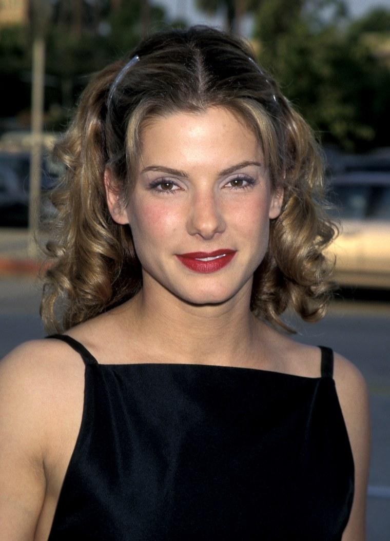 Sandra Bullock's hair ...