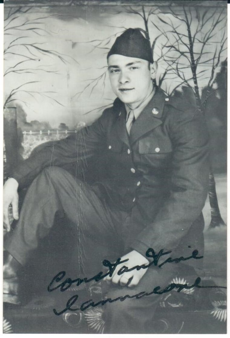 Poppy Iannacone age 21 in 1944