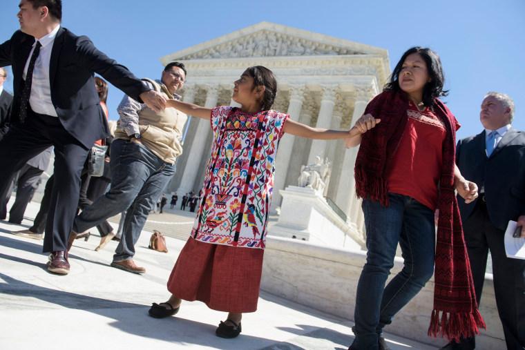Image: US-JUSTICE-IMMIGRATION-DEMONSTRATION