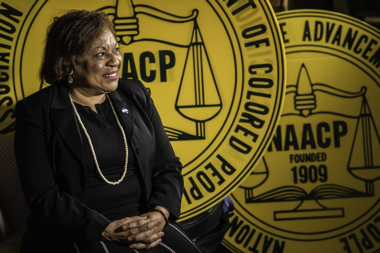 Tessa Hill-Aston is President of the Baltimore City branch of the NAACP.