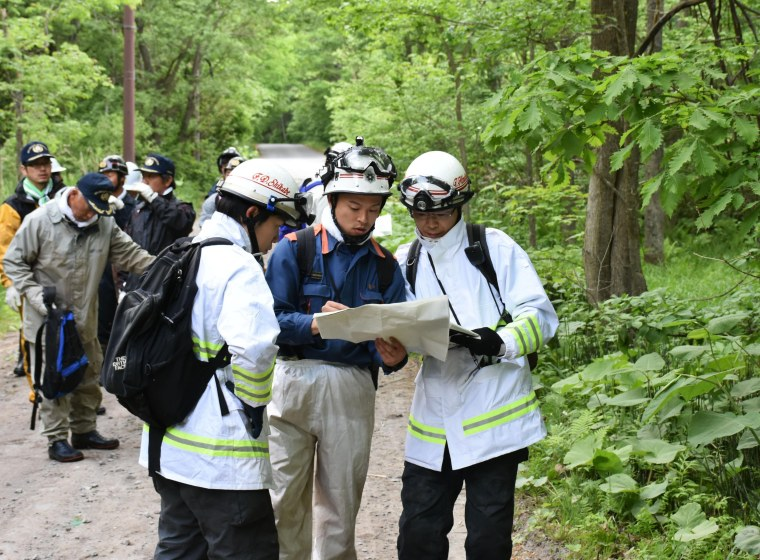 Image: Hokkaido search