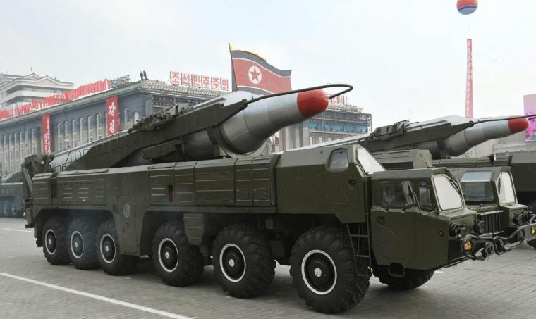 Image: North Korean ballistic missile launch fails - reports