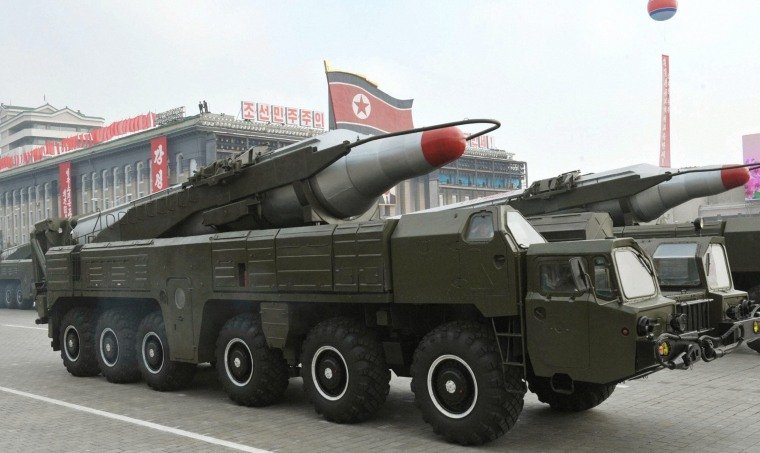 Image: North Korean ballistic missile launch fails - reports