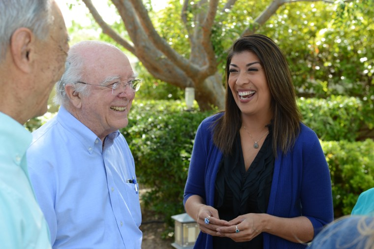 File photo of former assemblywoman and Democratic congressional candidate Lucy Flores. She was named a member of the DNC's Unity Reform Commission.