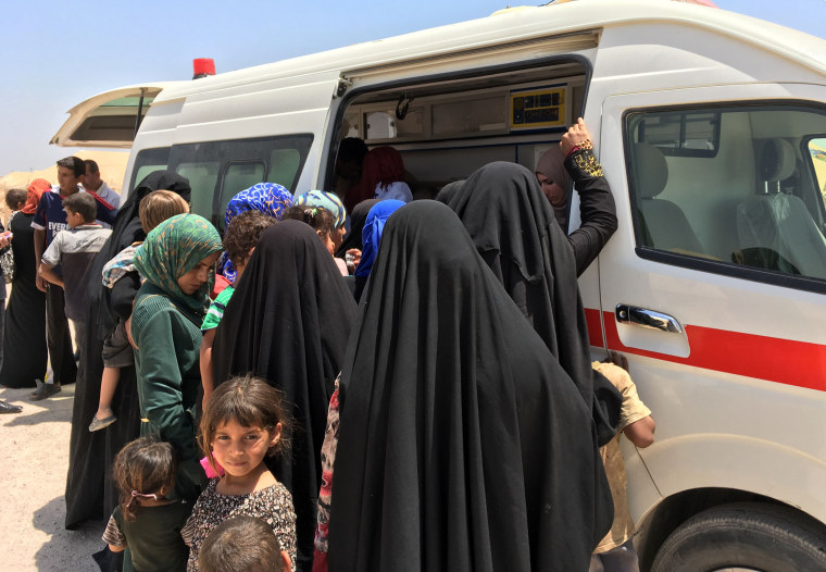 Image: IRAQ-CONFLICT-DISPLACED