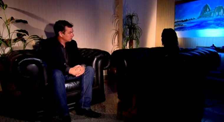 Victim of gang rape perpetrated by about 30 men speaks about her experience to TV Record.
