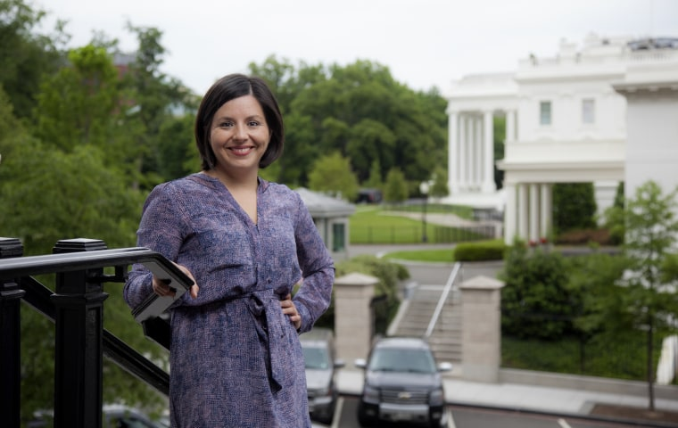 Image: Young Latinos of the Obama White House . Former staffer Stephanie Valencia.