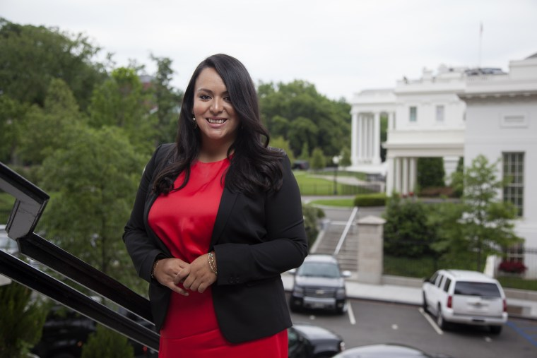 Image: Young Latinos of the Obama White House . Former staffer Nathaly Arriola.