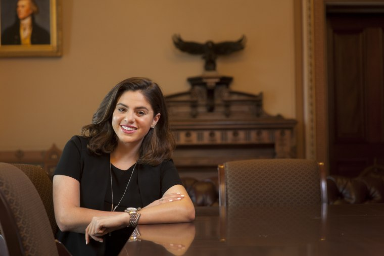 Image: Young Latinos of the Obama White House . Vivian Graubard